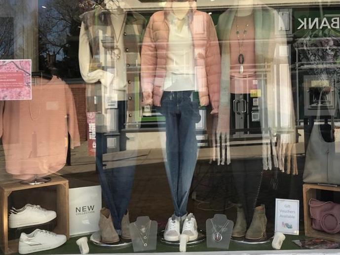 Window display from March 1st