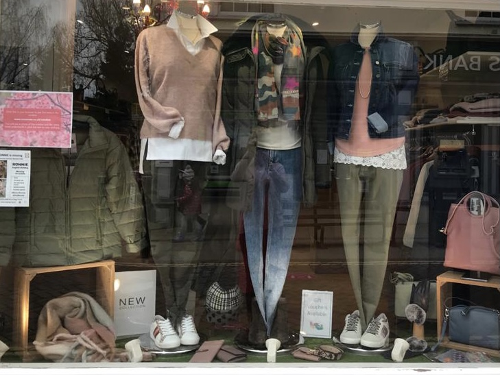 Shop WIndow from Monday 8th Feb